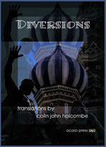 cover of diversions poem translations from nine languages