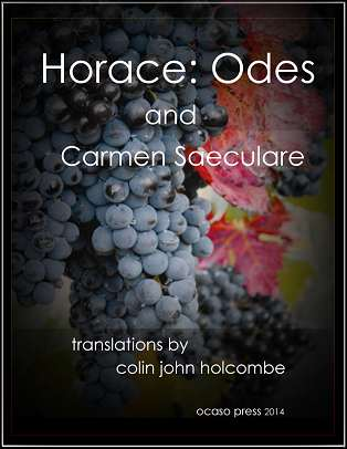 horace odes translation book cover