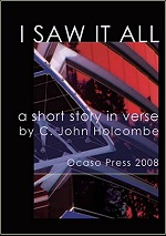 I saw it all poem book cover