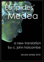 euripides medea translation book cover