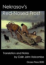 nekrasov's red-nosed frost book cover