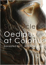 sophocles oedipus at colonus translation book cover